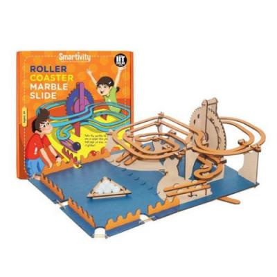 Circuit Roller-Coaster cu bilute de marmura foto