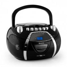 Auna Beeboy recorder Radio CD MP3 USB negru