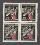 Boemia si Moravia.1943 Crucea Rosie  bloc 4  MB.749