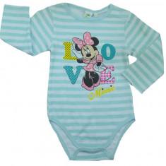 Body cu maneca lunga pentru fetite Minnie Mouse-Disney NH0391-T, Rosu