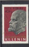 ROMANIA 1970 LP 725 - 100 DE ANI DE LA NASTEREA LUI  LENIN   MNH