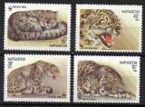 KIRGHIZSTAN, KÂRGÂZSTAN, Kyrgyzstan 1994, Fauna, serie neuzata, MNH, Nestampilat