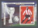 Yemen 1970 Sport, Soccer, Football, imperf. sheet, used T.130, Stampilat