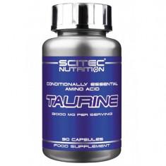 Taurina 1000 mg, 90 capsule, Scitec Nutrition