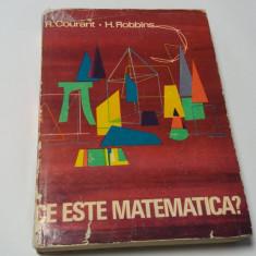 R. COURANT, H. ROBBINS- CE ESTE MATEMATICA? EXPUNERE A IDEILOR SI METODELOR RF3