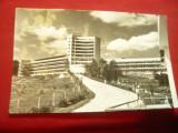 Ilustrata Sanatoriul Moroieni circulat 1966