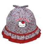 Palarie pentru fetite Hello Kitty-Sun City ME4130, Rosu