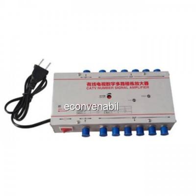 Amplificator Semnal TV Spliter 12 Iesiri JM8630LA12 MK12 30dB foto