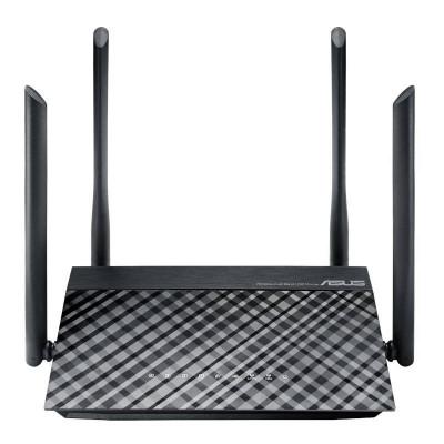 Router wireless Asus AC1200 Dual-Band Negru foto