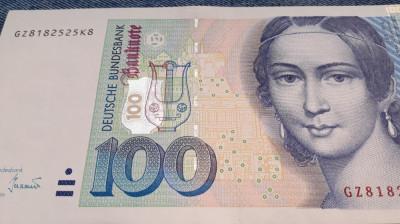 100 Mark 1996 Germania RFG, marci germane foto