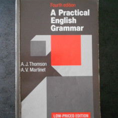 A. J. THOMSON - A PRACTICAL ENGLISH GRAMMAR