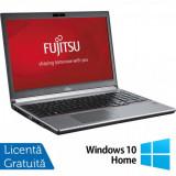 Laptop FUJITSU SIEMENS Lifebook E753, Intel Core i5-3230M 2.60GHz, 8GB DDR3, 120GB SSD, DVD-RW, 15.6 Inch, Tastatura Numerica, Fara Webcam + Windows 1