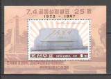 Coreea de Nord.1997 25 ani comunicarea intre Nord si Sud -Bl. SC.225