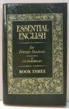 ESSENTIAL ENGLISH FOR FOREIGN STUDENTS by C.E.ECKERSLEY ,BOOK THREE , 1996