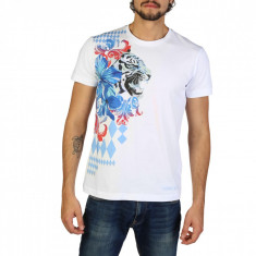 Tricou barbati Versace Jeans model B3GRB71H36598, culoare Alb, marime XL