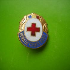 HOPCT ROMANIA INSIGNA CRUCEA ROSIE SORA DE CTUCE ROSIE [ 2 ]