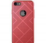 Husa Telefon Nillkin, iPhone 8, Air Case, Red