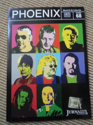 phoenix compilatie cd disc jurnalul national vol 68 muzica rock folk de colectie foto