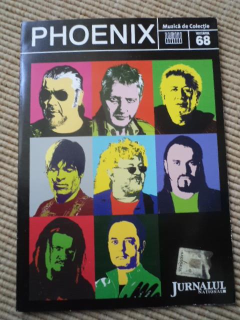 phoenix compilatie cd disc jurnalul national vol 68 muzica rock folk de colectie