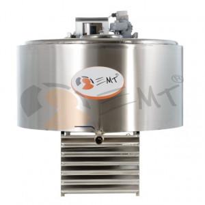 Tanc din inox pentru racire lapte 200L x 1.2 kw trifazic EMT.CTS200-3