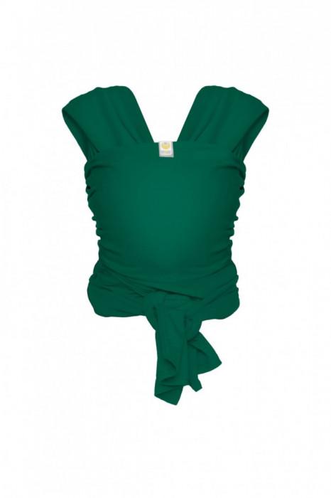 Sistem de purtare Bykay Wrap Elastic Classic 3.5-10Kg Forest Green