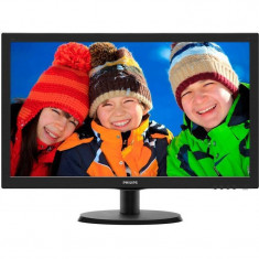 Monitor Philips LED 223V5LSB 21.5 inch Negru