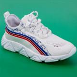 Pantofi sport albi barbati MDL00124