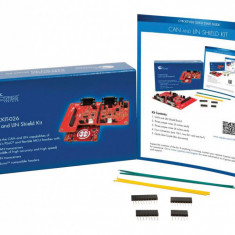 Panou de evaluare, Kit Shield CAN și LIN, aplicații compatibile cu Arduino