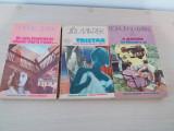 3 romane la pret de unul,ed Univers 1986-1988, noi, stare foarte buna!