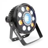 Cumpara ieftin Beamz BX94 PAR 9X6W 4în1, Lled-uri RGBW, stroboscop cu 24 Lled-uri SMD, telecomandă