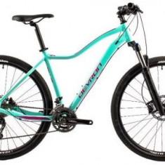 Bicicleta Dama Devron Riddle W3.9, Cadru 19.3inch, Roti 29inch (Albastru)