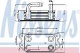 Termoflot radiator ulei VOLVO S40 II (MS) NISSENS 90714