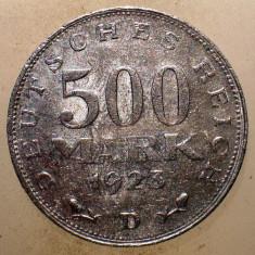 1.645 GERMANIA WEIMAR 500 MARK 1923 D