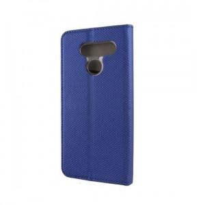 Husa Flip Lg Q60LG K50 iberry Smart Book Albastru