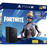 Consola Sony Playstation 4 Pro 1Tb Jet Black Fortnite Neo Versa Bundle