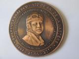 Cumpara ieftin Medalia Smaranda Brăescu 120 ani de la nastere,diametrul=60 mm,greutate=72 gr.