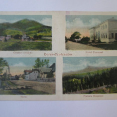Dorna Candrenilor/Suceava,carte post.necir.anii 30 cu stampila Pref.Jud C-lung, Vatra Dornei, Necirculata, Printata