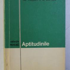 APTITUDINILE de AL. ROSCA , B. ZORGO , 1972