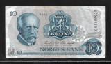 Norvegia  10 Kroner 1984-P 36