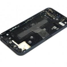 Capac spate sticla crapata + buton power + buton volum iPhone 5 022G9L