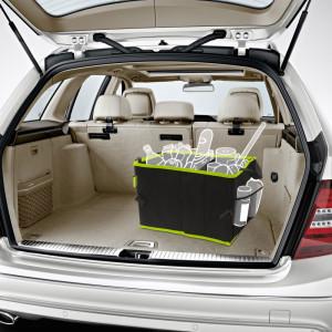 Organizator auto pt. portbagaj 2 compartimente 36 x 30 x 25 cm Best CarHome