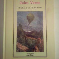 Biblioteca Adevarul - Cinci saptamani in balon, Jules Verne