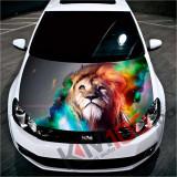 """Sticker Imprimat Color pentru Capota """"Hood Art"""" cod: KM-HOOD-31"""