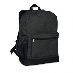 Rucsac anti-furt, 600D poliester, Everestus, RU15, negru, saculet de calatorie si eticheta bagaj incluse