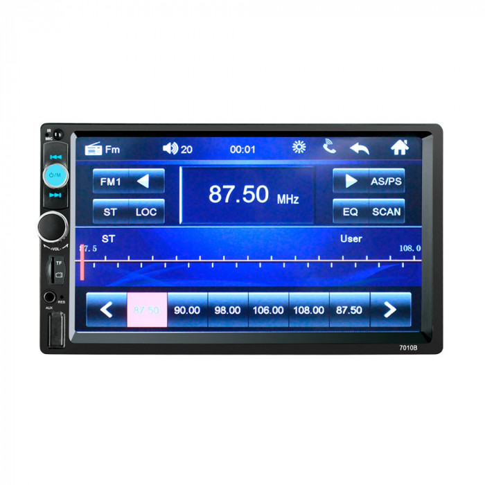 Mp5 player auto 7010b  2 DIN  Touch screen 7 Bluetooth USB