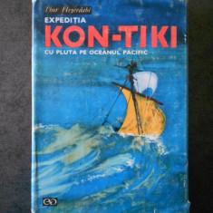 THOR HEYERDAHL - EXPEDITIA KON-TIKI CU PLUTA PE OCEANUL PACIFIC (1968)