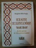 M.MILLER-VERGHY-VECHI MOTIVE DECORATIVE ROMANESTI (ORNAMENTICA/ARTA POPULARA)