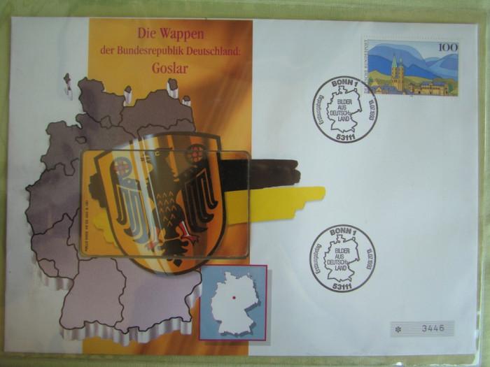 Cartela Telefonica + FDC Germania Golsar - Exponat Numerotat