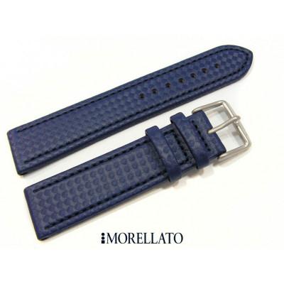 Curea de ceas albastra Morellato Sport Capoeira 20mm 22mm A01X4907977062SB foto