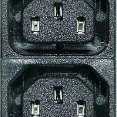 Mufa alimentare calculator, mama, 4 sectiuni, IEC 60320 - 125303